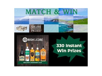Irish to the Core Instant Win Game