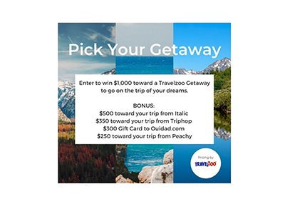 TravelZoo Pick your Getaway Giveaway
