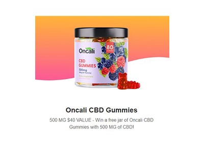 Oncali CBD Gummies Giveaway