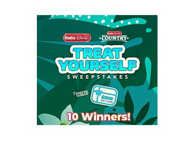 Radio Disney Treat Yourself Sweepstakes – Ends May 14th