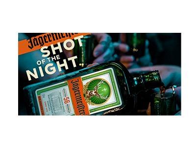 Jägermeister Shot of the Night Text Sweepstakes