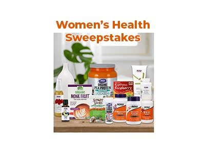 NOW Foods Women's Health Sweepstakes