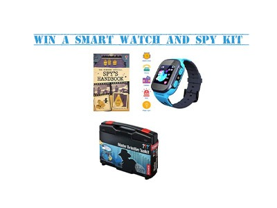 Win a Children's Smart Watch and Spy Kit