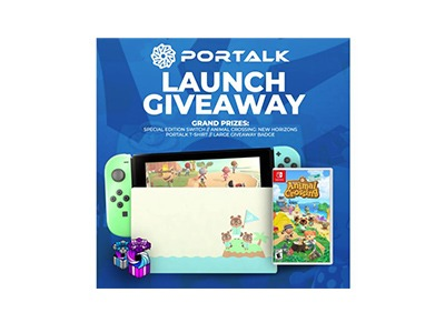 Portalk Special Edition Animal Crossing Switch Giveaway
