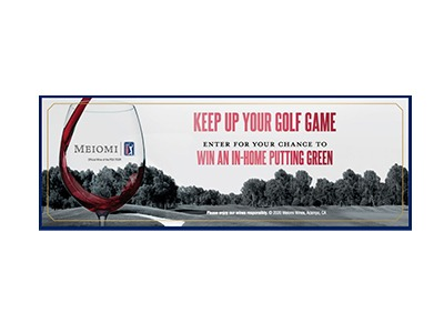 Win an In-home putting green
