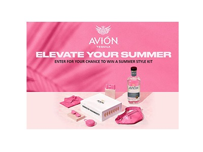 Avion Elevate Your Summer  Sweepstakes