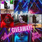 MsBelleChelle TechniSport Gaming Chair Giveaway