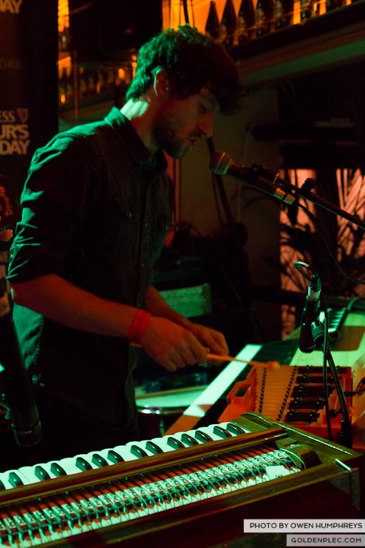 Delorentos @ Arthurs Day in The Mercantile by Owen Humphreys-1