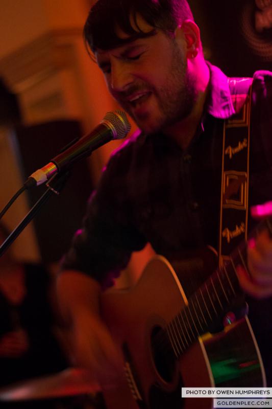 Delorentos @ Arthurs Day in The Mercantile by Owen Humphreys-2
