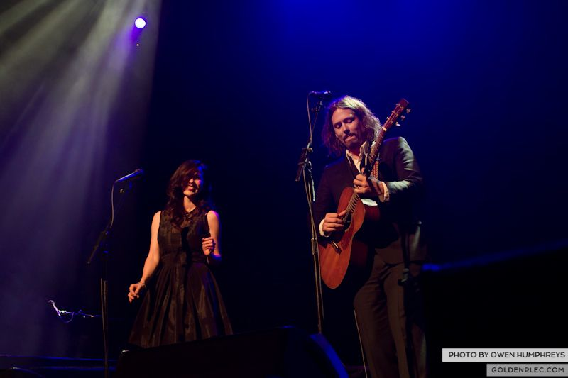 The Civil Wars @ The Olympia  by Owen Humphreys-8