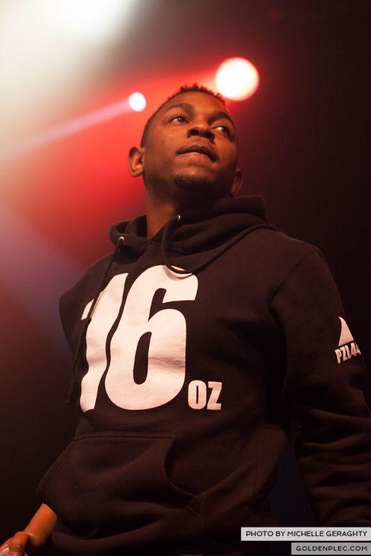 Kendrick Lamar at Vicar St 2013-6931