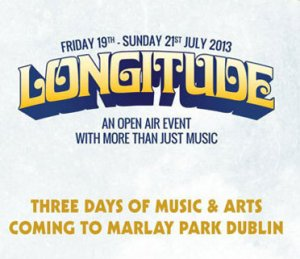 Longitude 2013 lineup and stage times
