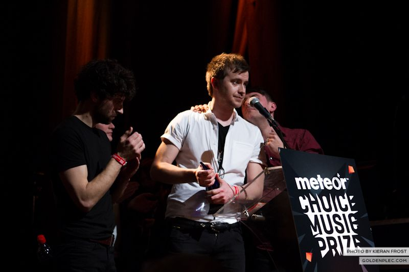Delorentos at The Meteor Choice Music Prize