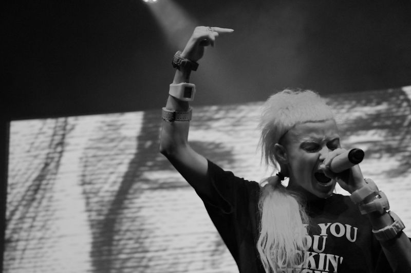 Die Antwoord in the Olympia on 20_06_2013 by Yan Bourke_15