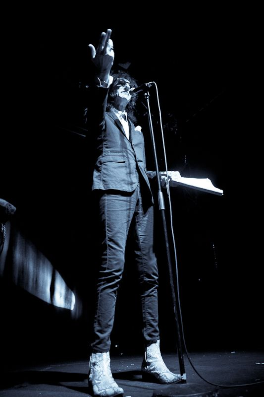JohnCooper Clarke at The Button Factory on 14 June 2013 (14)