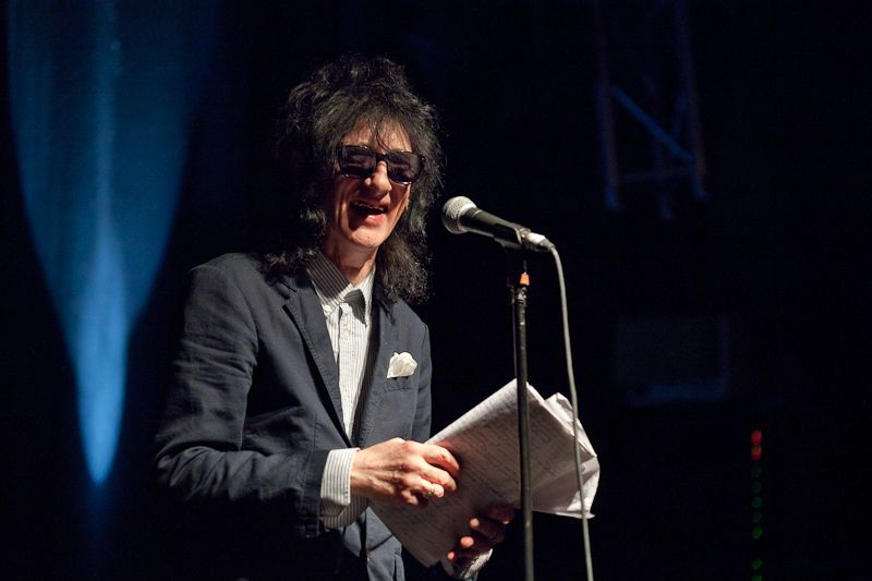 JohnCooper Clarke at The Button Factory on 14 June 2013 (17)