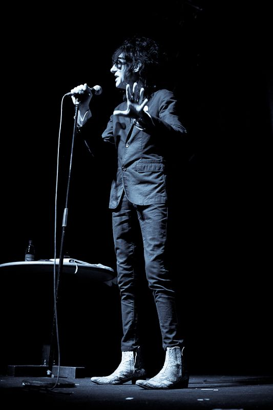 JohnCooper Clarke at The Button Factory on 14 June 2013 (2)