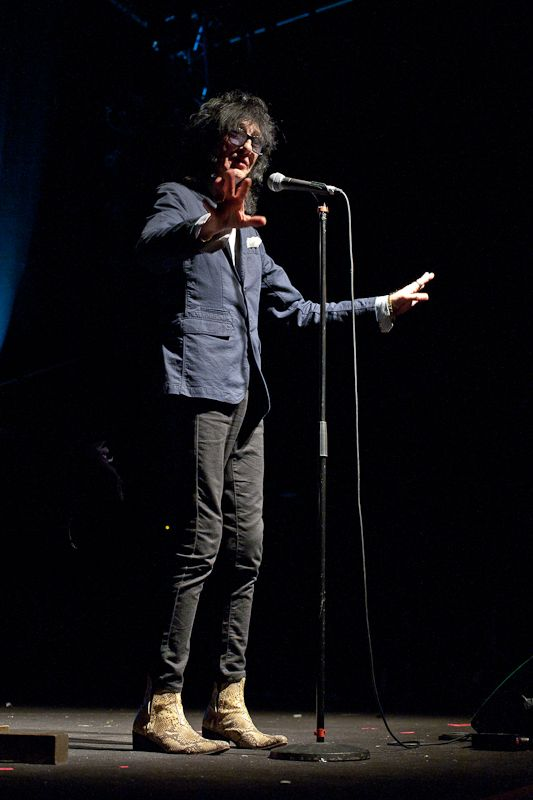 JohnCooper Clarke at The Button Factory on 14 June 2013 (5)