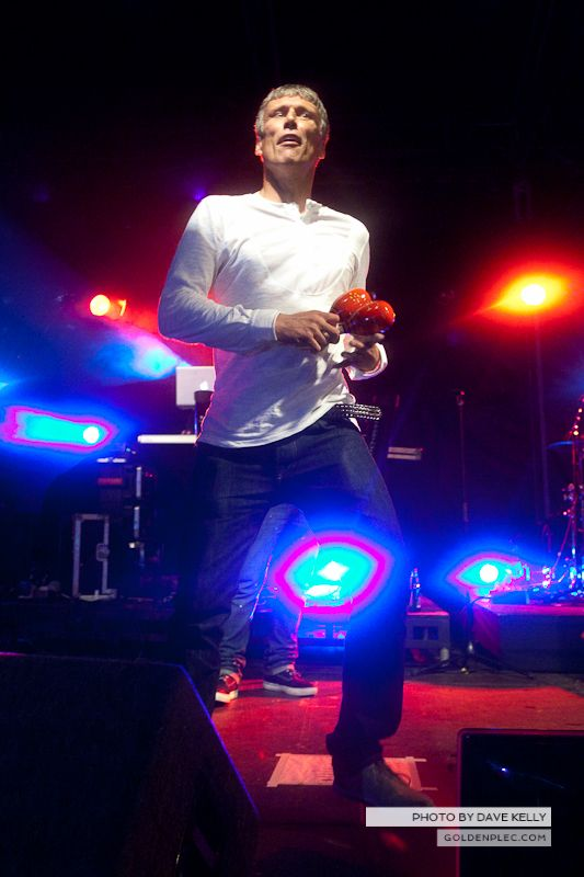 Happy Mondays at Leopardstown Racecourse on 15 August 2013 (4)