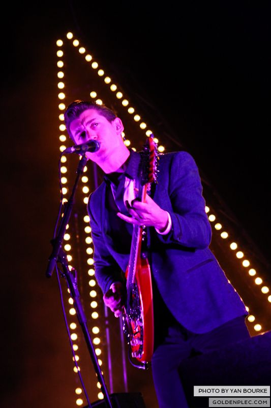Arctic Monkeys at Electric Picnic by Yan Bourke on 010913_01