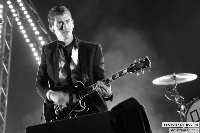 Arctic Monkeys at Electric Picnic by Yan Bourke on 010913_08