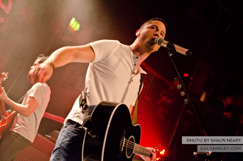 Boyce Avenue at The Academy on September 15th 2013-08