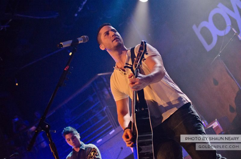 Boyce Avenue at The Academy on September 15th 2013-16