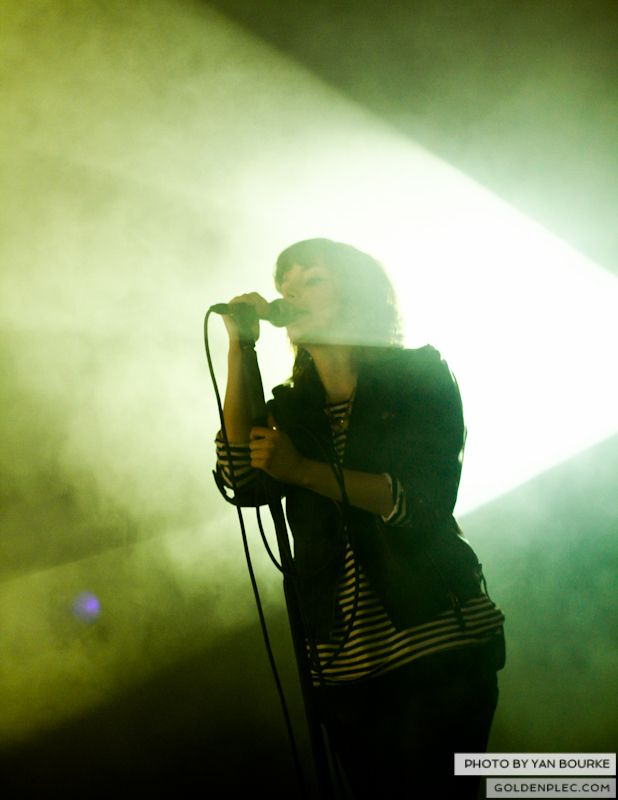 Chvrches at Electric Picnic by Yan Bourke on 010913_01