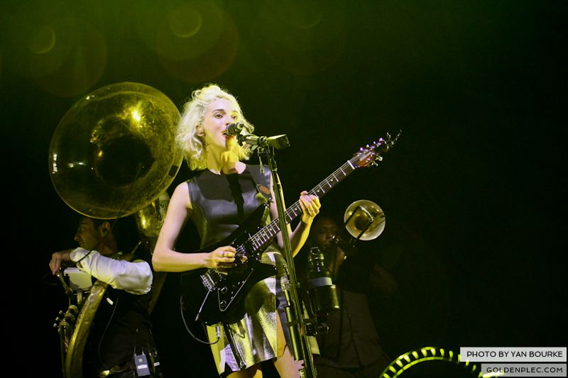 David Byrne and St Vincent at Electric Picnic by Yan Bourke on 010913_05