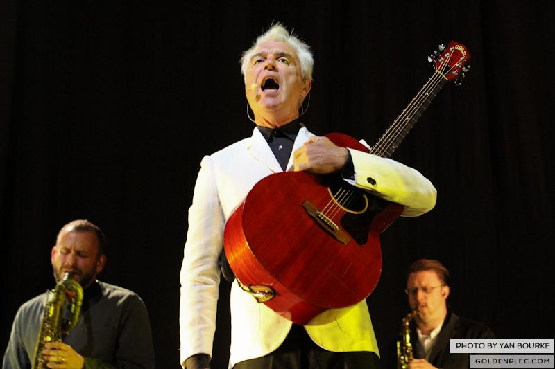 David Byrne and St Vincent at Electric Picnic by Yan Bourke on 010913_09