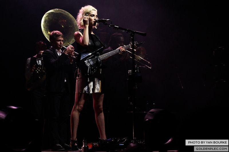 David Byrne and St Vincent at Electric Picnic by Yan Bourke on 010913_14