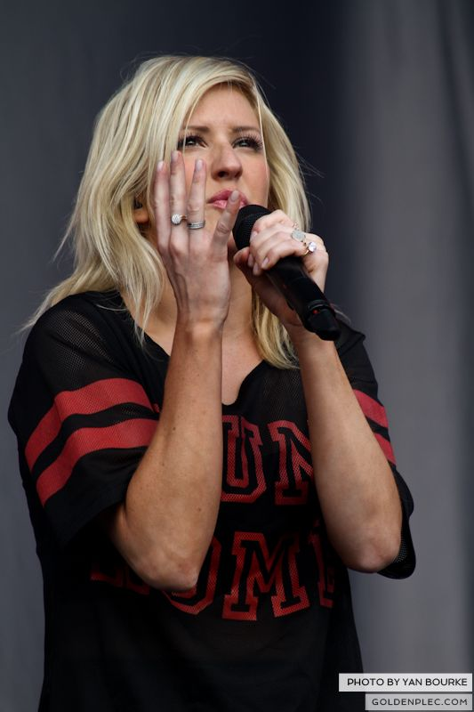Ellie Goulding at Electric Picnic by Yan Bourke on 31081303