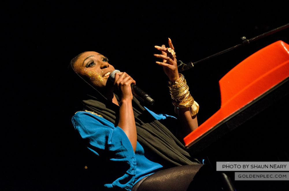 Laura Mvula at The Olympia Theatre on October 12th 2013-16