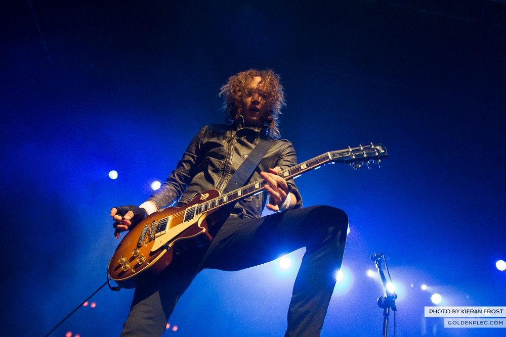 The Darkness at The Olympia by Kieran Frost