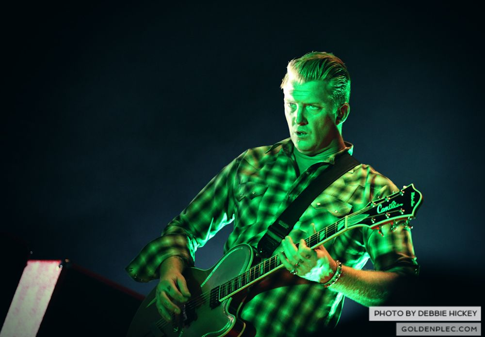 Queens of The Stone Age by Debbie Hickey