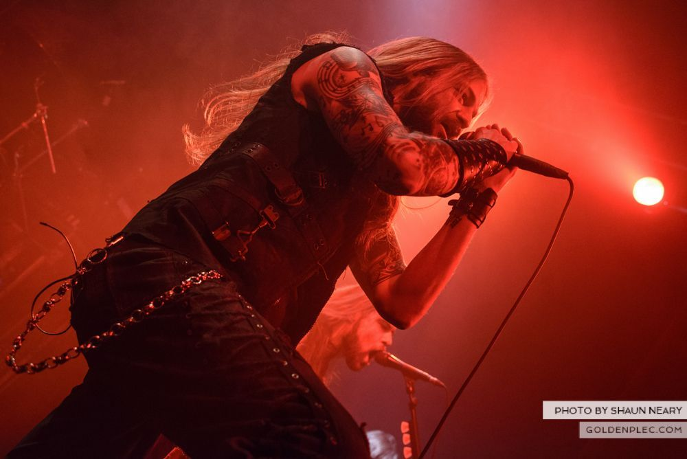 Iced Earth at The Button Factory, Dublin on January 13th 2014-10