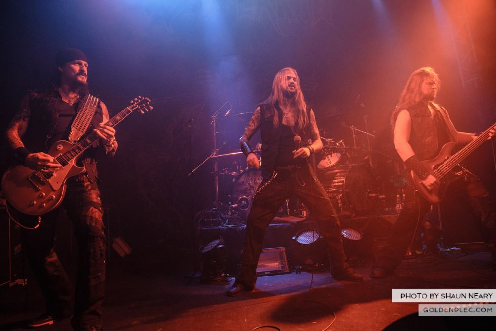 Iced Earth at The Button Factory, Dublin on January 13th 2014-11