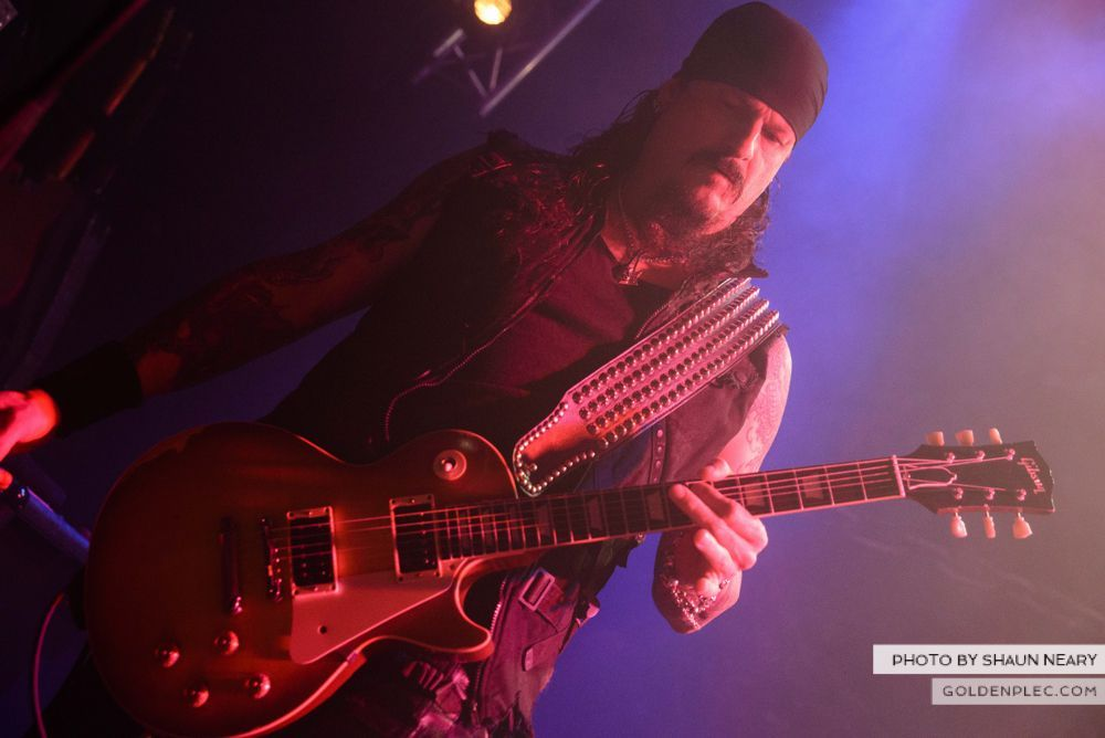 Iced Earth at The Button Factory, Dublin on January 13th 2014-12