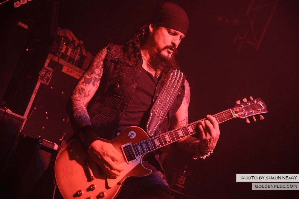 Iced Earth at The Button Factory, Dublin on January 13th 2014-14