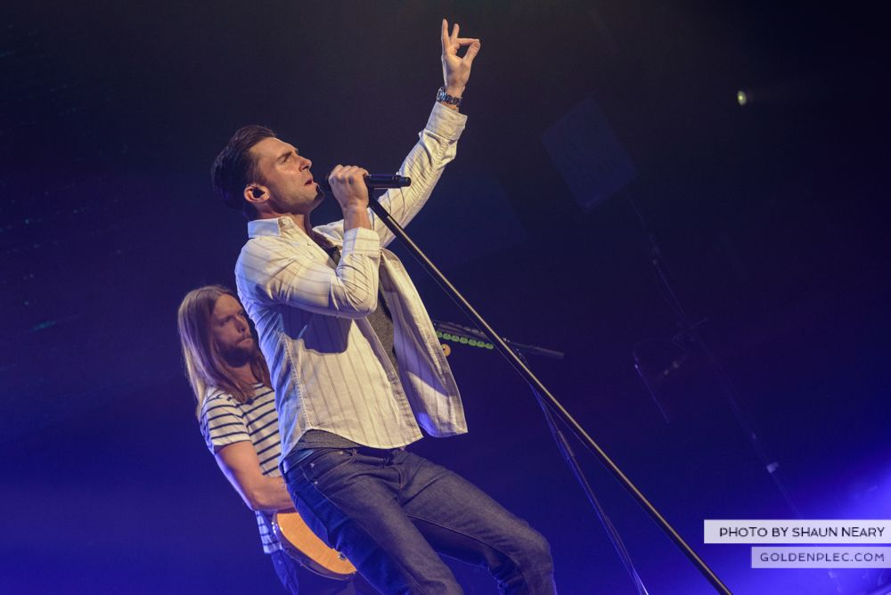 Maroon 5 at The o2, Dublin on January 16th 2014-07
