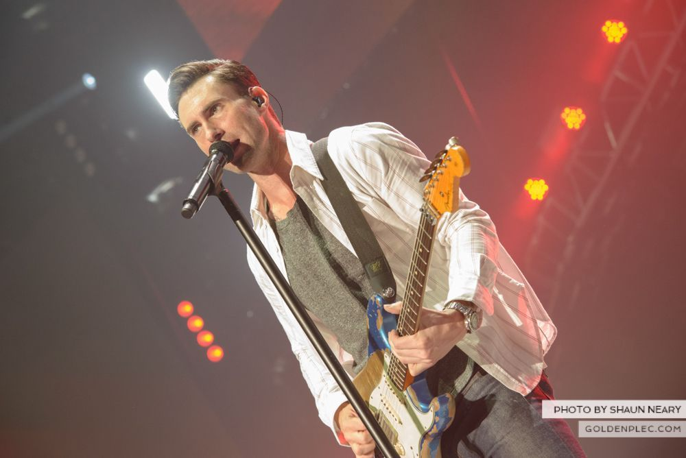 Maroon 5 at The o2, Dublin on January 16th 2014-19