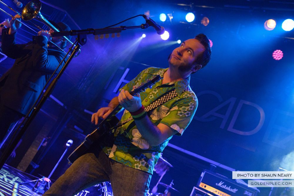 Reel Big Fish at The Academy, Dublin on January 30th 2014-06