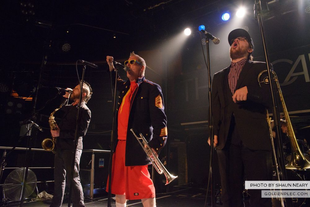 Reel Big Fish at The Academy, Dublin on January 30th 2014-17