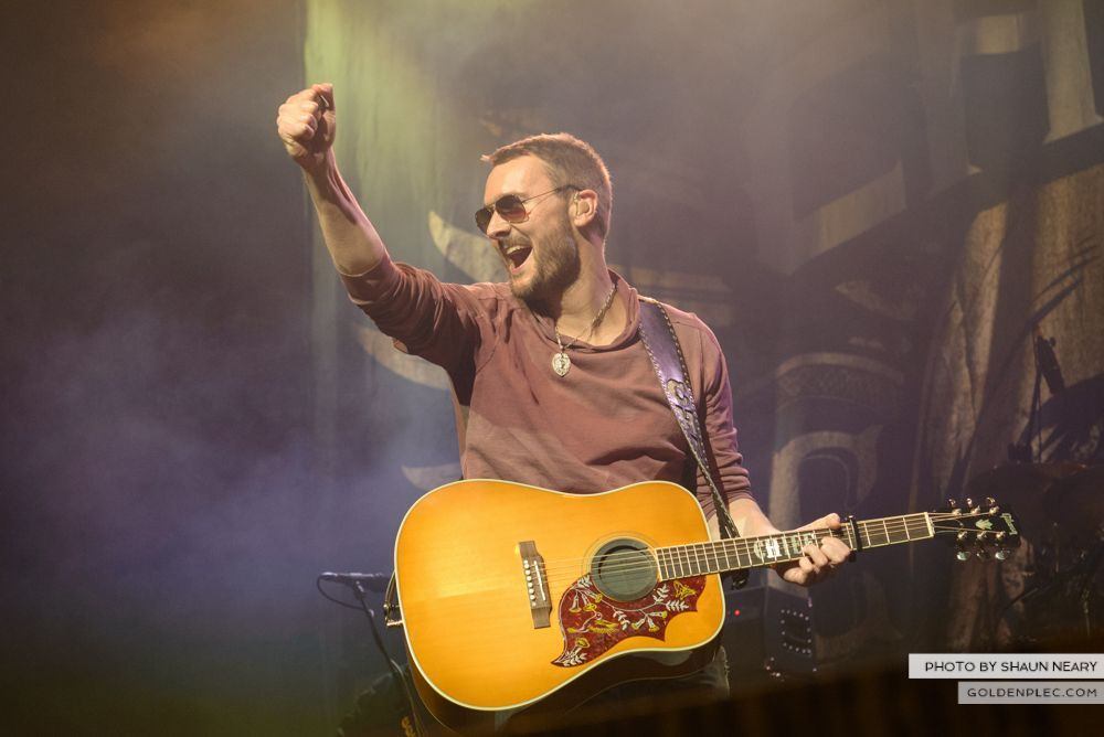 Eric Church at The Olympia Theatre, Dublin on February 24th 2014-12