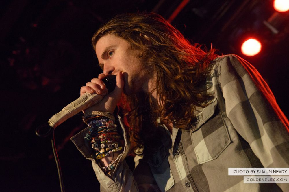 Mayday Parade at The Academy, Dublin on February 1st 2014-19
