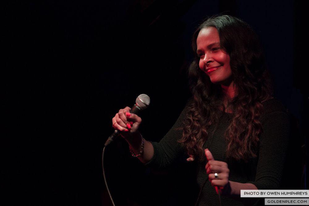 Samantha Mumba at Monroe's, Galway on 21-2-14 (5 of 16)