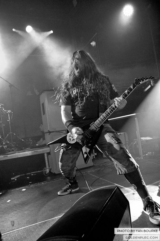 Sepultura in The Academy on 4 Feb 2014 by Yan Bourke-25