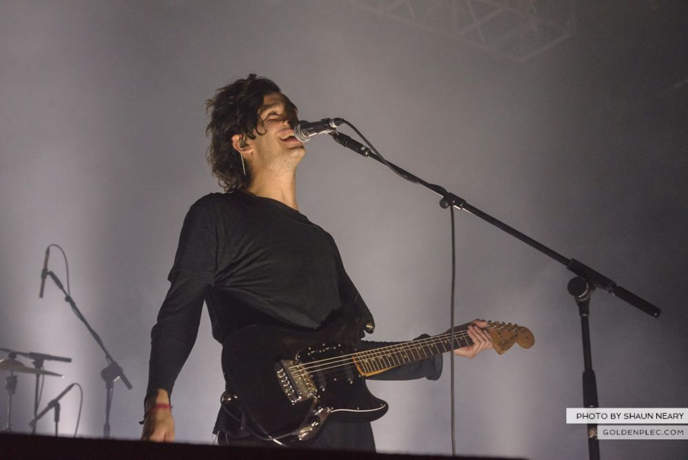 The 1975 at The Olympia Theatre, Dublin on February 21st 2014-11