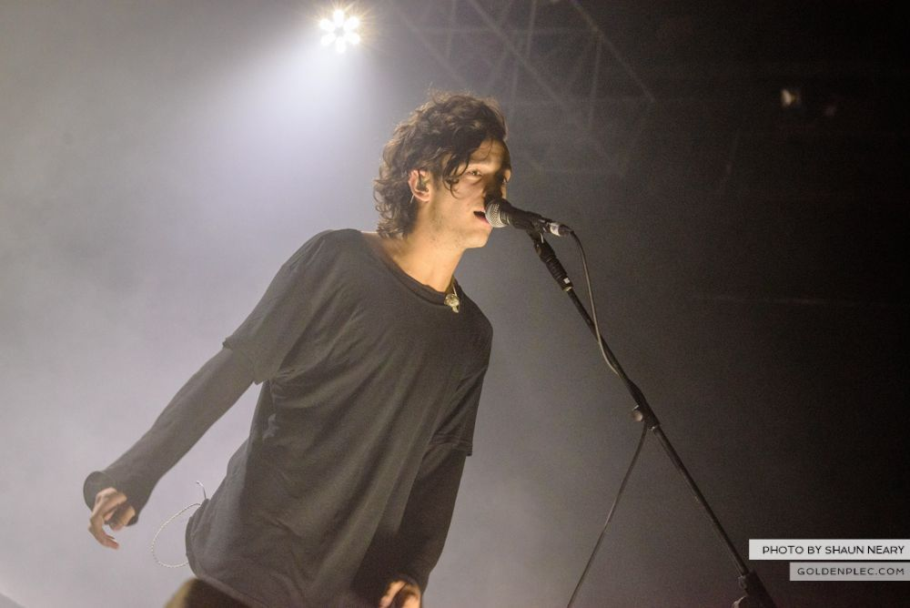 The 1975 at The Olympia Theatre, Dublin on February 21st 2014-17