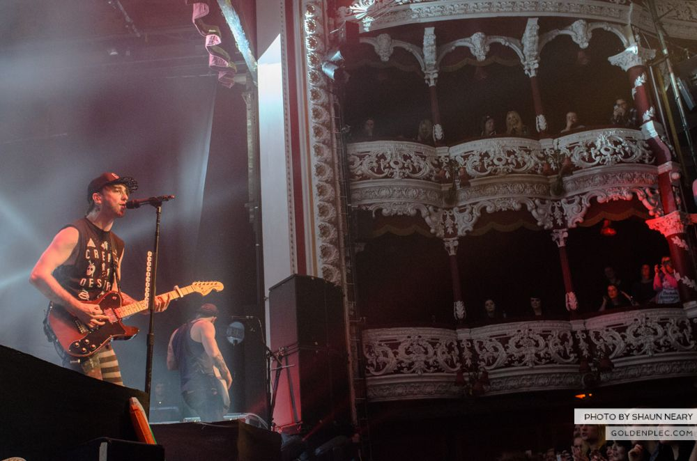 All Time Low at The Olympia Theatre, Dublin on March 19th 2014-03